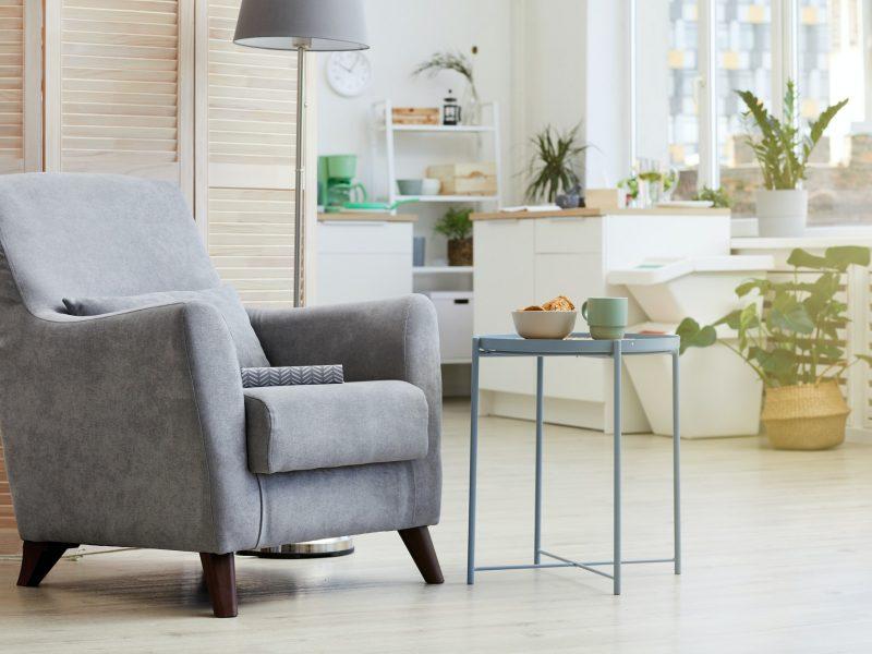 Armchair at house
